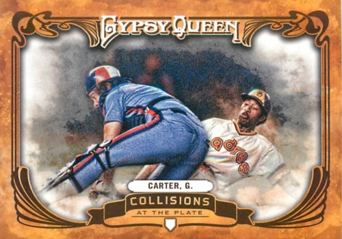 Photo of 2013 Topps Gypsy Queen Collisions At The Plate #GC Gary Carter