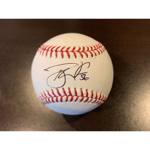 Giants Community Fund: Tony Watson Autographed Baseball