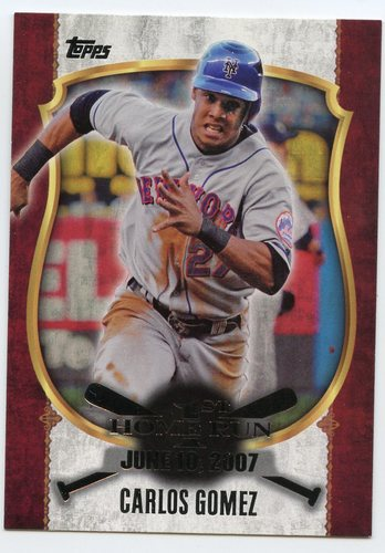 Photo of 2015 Topps Update First Home Run Silver #FHR11 Carlos Gomez