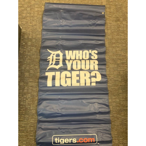 Photo of Team-Issued Who's Your Tiger Banner