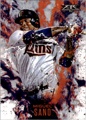 Photo of 2016 Topps Update Fire #F12 Miguel Sano