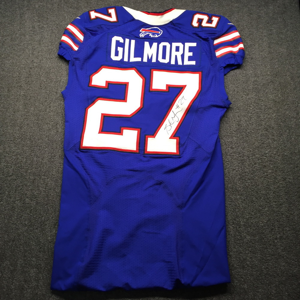 NFL Auction | Bills - Stephon Gilmore Signed Game Issued Jersey ...