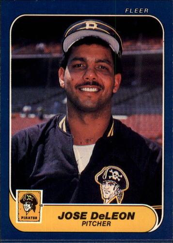 Photo of 1986 Fleer #608 Denny Gonzalez
