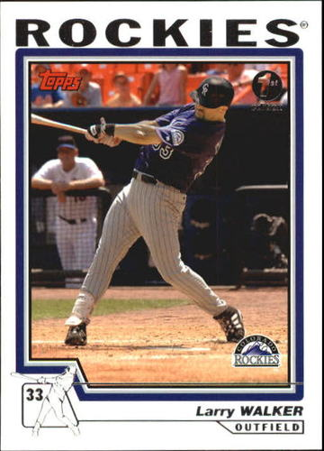 Photo of 2004 Topps 1st Edition #512 Larry Walker