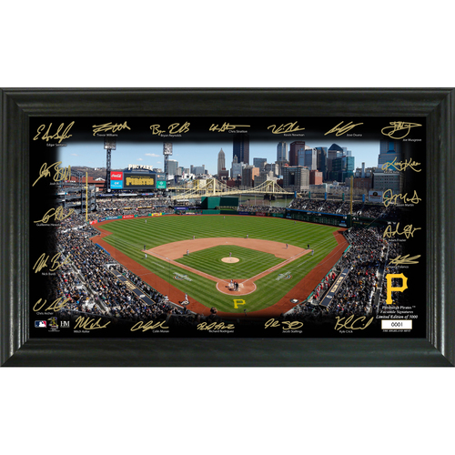 Photo of Pittsburgh Pirates 2020 Signature Field Limited Edition Frame