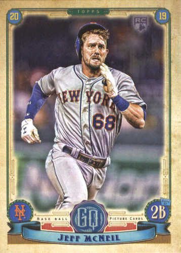 Photo of 2019 Topps Gypsy Queen #257 Jeff McNeil RC