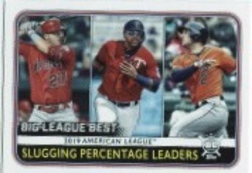 Photo of 2020 Topps Big League #253 Alex Bregman/Nelson Cruz/Mike Trout LL