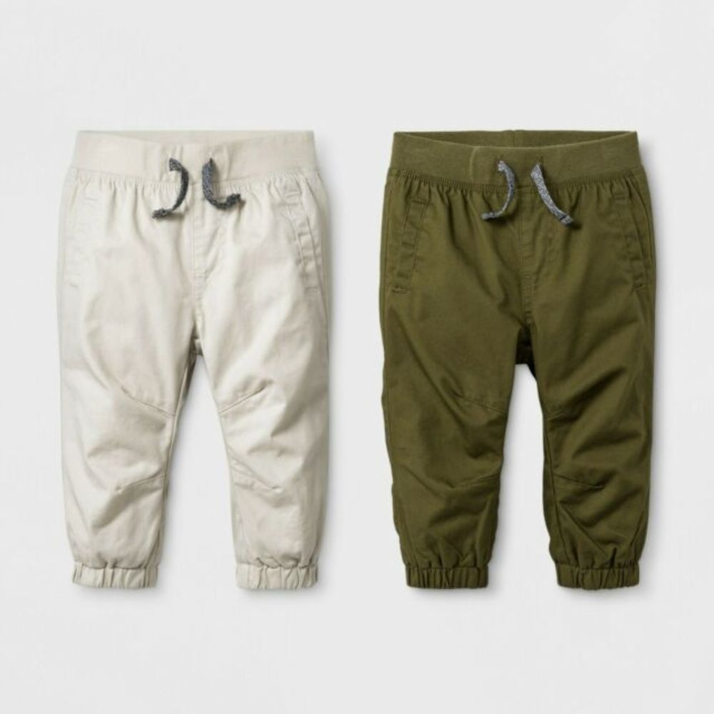 Photo of Baby Boys' Twill Joggers Set - Cat & Jack