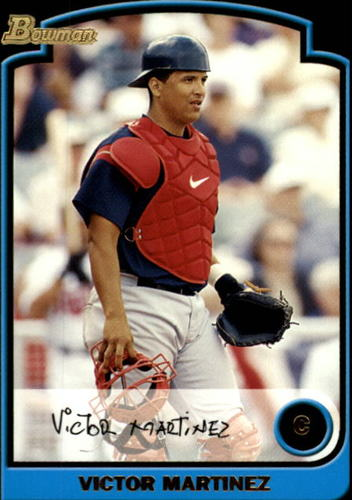 Photo of 2003 Bowman #162 Victor Martinez