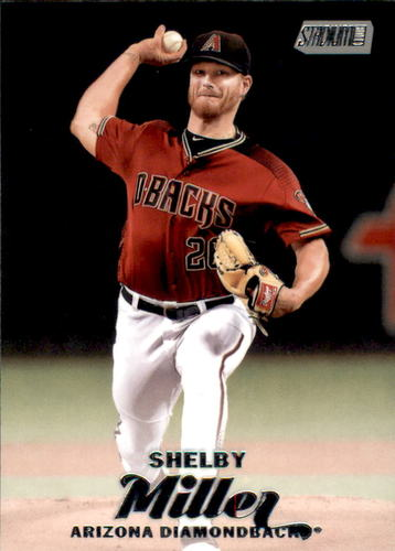 Photo of 2017 Stadium Club #296 Shelby Miller