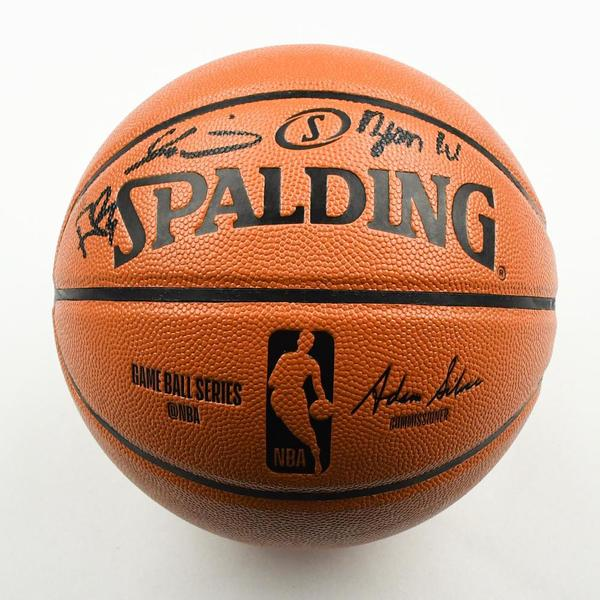 Image of Zion Williamson, RJ Barrett and Cam Reddish - Duke University Teammates - 2019 NBA Draft Class - Autographed Basketball