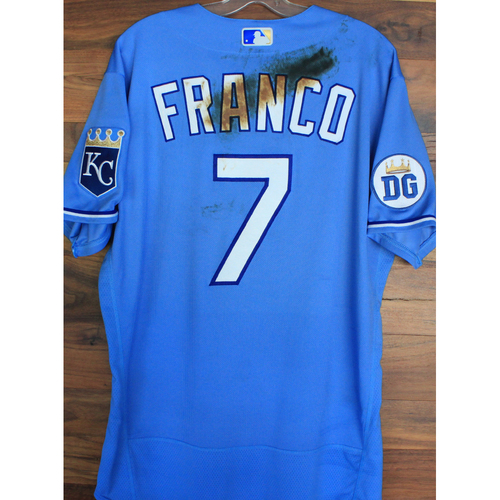 Photo of Alex's Lemonade Stand Foundation: Game-Used Maikel Franco Jersey (Size 46 - 9/26/20 DET @ KC)