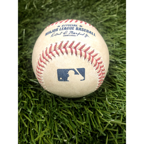 Photo of Game-Used Baseball - Albert Pujols RBI Single - 7/2/21
