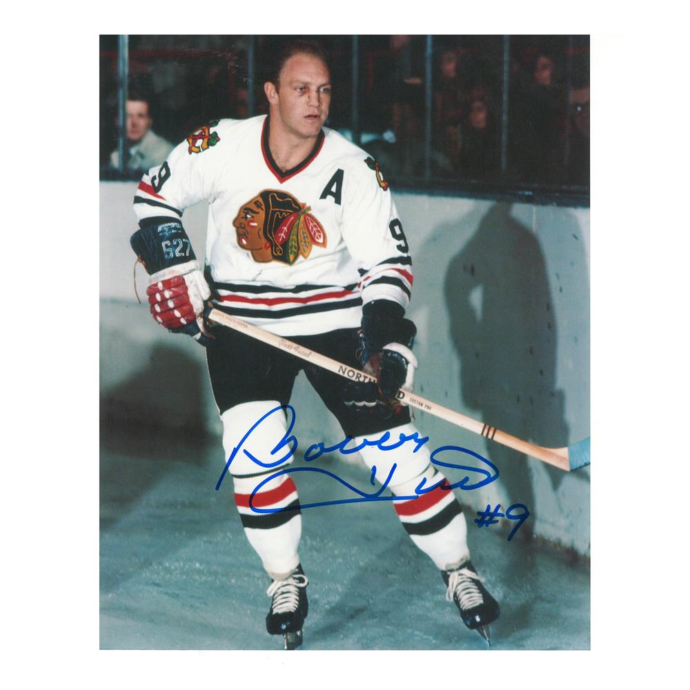 BOBBY HULL Signed Chicago Blackhawks 8 X 10 Photo - 70254