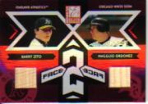 Photo of 2005 Donruss Elite Face 2 Face Bats #14 Barry Zito/Magglio Ordonez/50