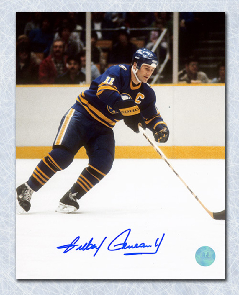 Gilbert Perreault Buffalo Sabres Autographed Playmaker 8x10 Photo