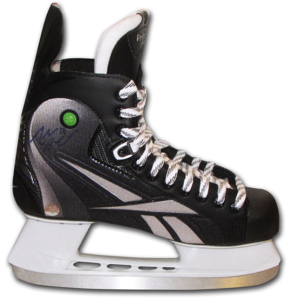 Adam Henrique Autographed Reebok Bronze Hockey Skate