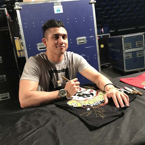 TJP WORN & SIGNED Connor's Cure