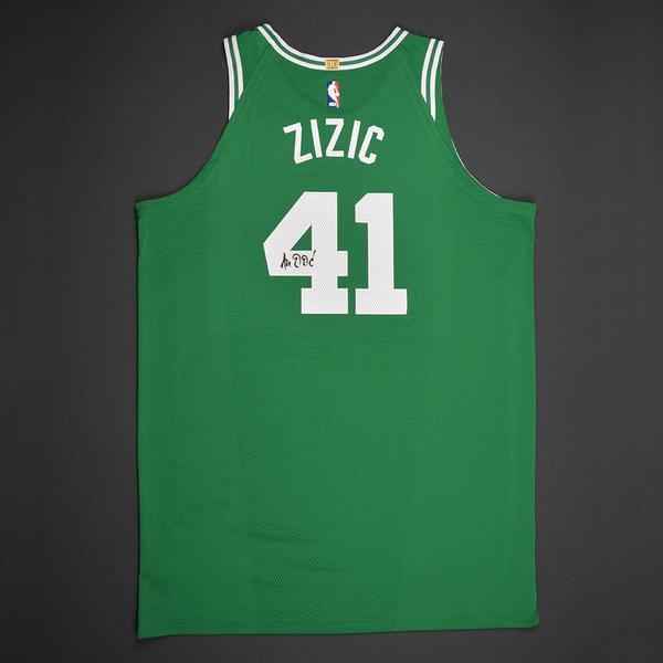 buy popular 97bdf 12812 Ante Zizic - Boston Celtics - 2017 NBA Draft - Autographed ...