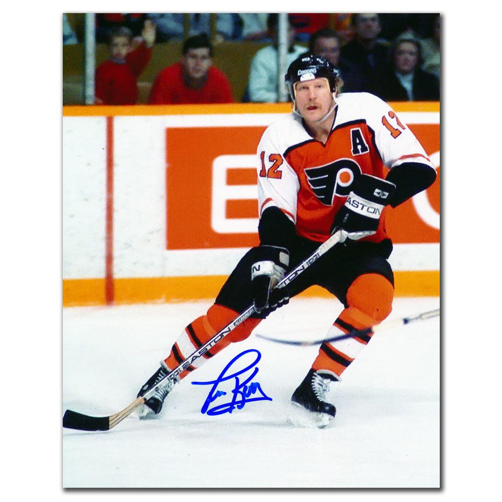 Tim Kerr Philadelphia Flyers PLAYMAKER Autographed 8x10