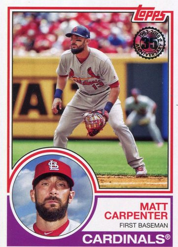 Photo of 2018 Topps '83 Topps #8311 Matt Carpenter