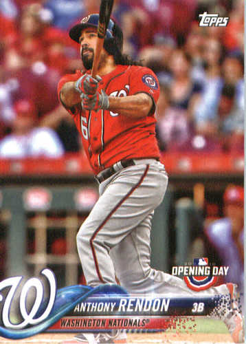 Photo of 2018 Topps Opening Day #109 Anthony Rendon