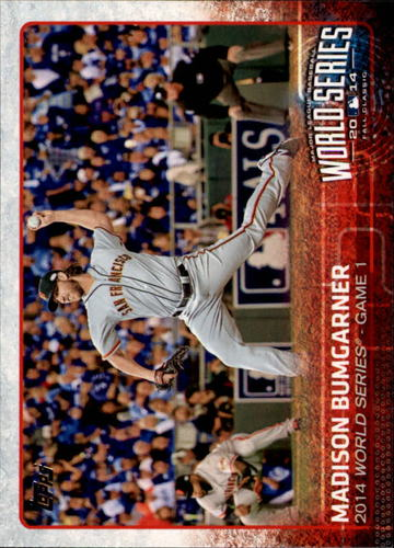 Photo of 2015 Topps #188 Madison Bumgarner WSH