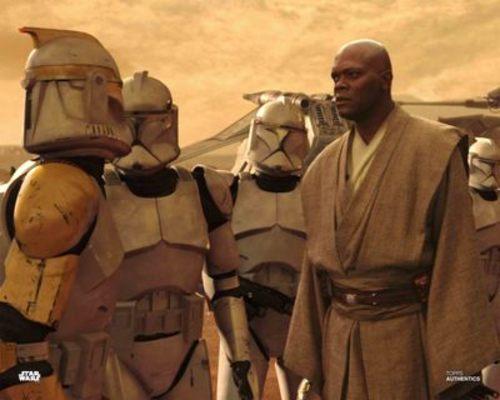 Mace Windu and Clone Trooper