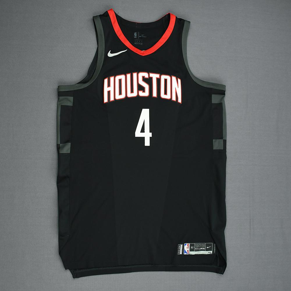 PJ Tucker - Houston Rockets - Game-Worn  Statement  Jersey - 2017-18 ... e2e29242b