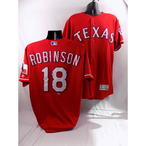 Photo of 8/7/18 - Game-Used Red Jersey - Drew Robinson