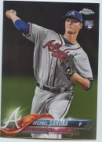 Photo of 2018 Topps Chrome Update #HMT16 Michael Soroka RC