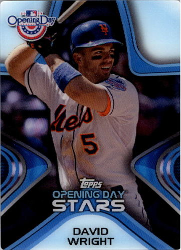 Photo of 2014 Topps Opening Day Stars #ODS20 David Wright