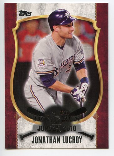 Photo of 2015 Topps Update First Home Run Silver #FHR13 Jonathan Lucroy