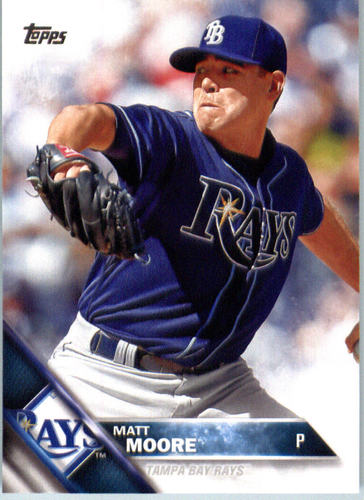Photo of 2016 Topps #698 Matt Moore