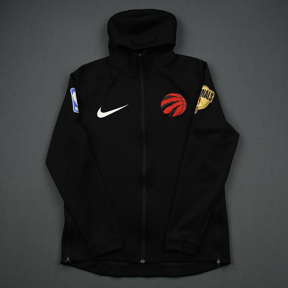 Kyle Lowry - Toronto Raptors - 2019 NBA Finals - Game 3 - Warmup-Worn Hooded Warmup Jacket