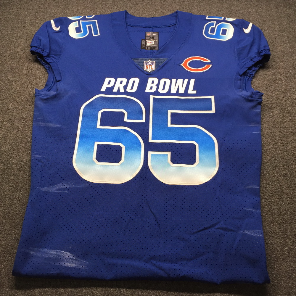 NFL - Bears Cody Whitehair Game Issued 2019 Pro Bowl Jersey Size 46