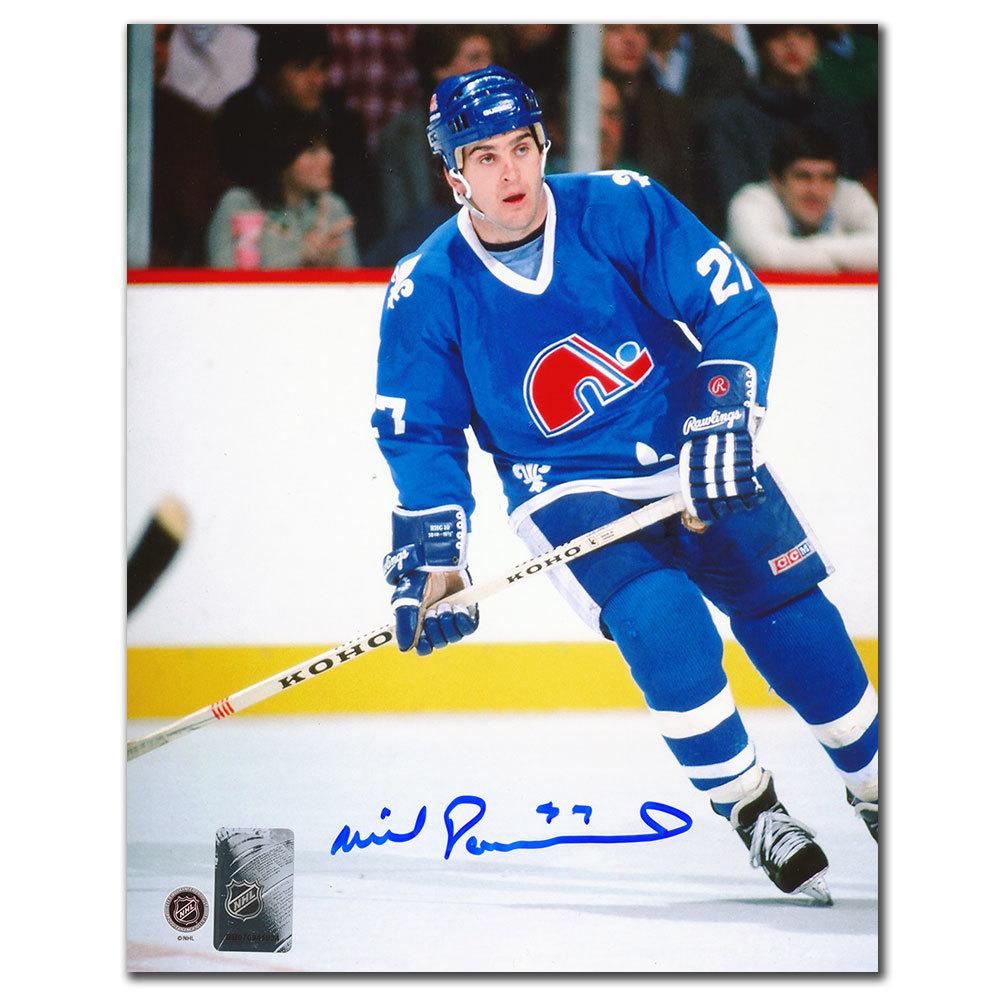 Wilf Paiement Quebec Nordiques Autographed 8x10