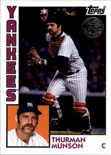Photo of 2019 Topps Update '84 Topps #8450 Thurman Munson
