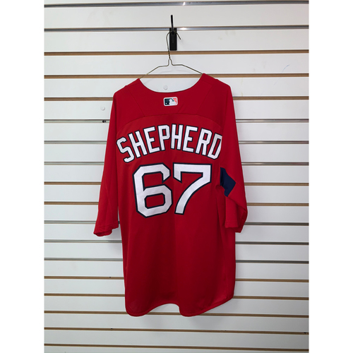 Photo of Chandler Shepherd Team Issued Home Batting Practice Jersey