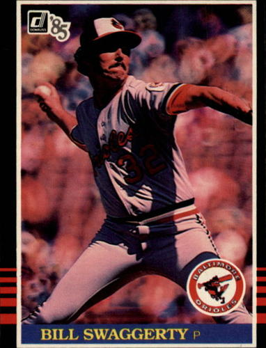 Photo of 1985 Donruss #392 Bill Swaggerty