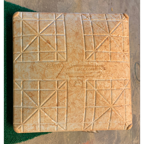 Photo of 2020 Houston Astros Game-Used Base (August) - PRESALE: Choose your Game Date!