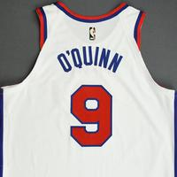 Kyle O'Quinn - Philadelphia 76ers - Game-Worn Classic Edition 1970-71 Home Jersey - 2019-20 Season