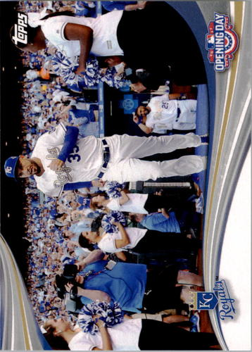 Photo of 2017 Topps Opening Day Opening Day #ODB3 Kansas City Royals