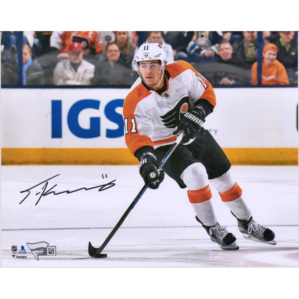 Travis Konecny Philadelphia Flyers Autographed 8