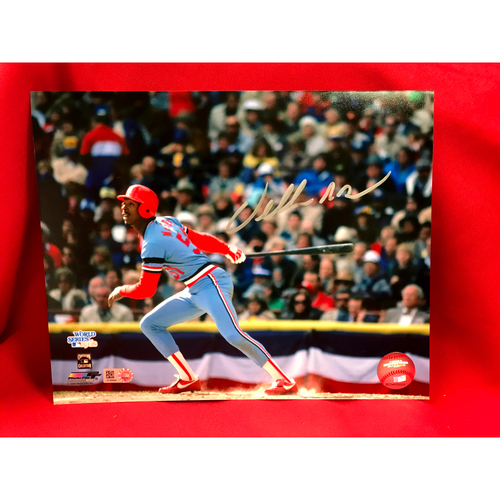 Photo of Willie McGee Autographed Photo