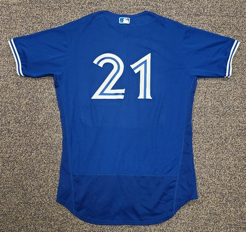 Photo of Authenticated Team Issued 2020 Spring Training Jersey: #21. Size 46