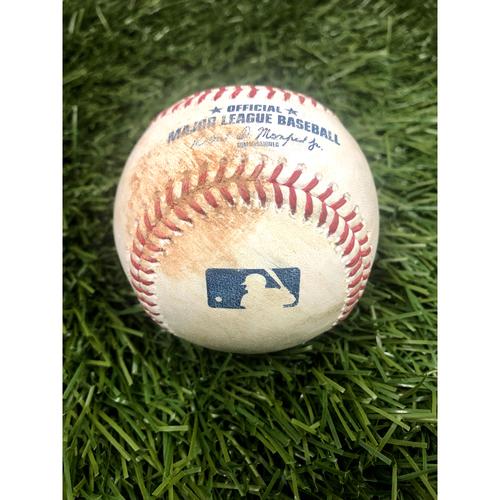 Photo of Game-Used Baseball - Wander Franco Single - 6/30/21
