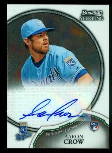 Photo of 2011 Bowman Sterling Rookie Autographs #11 Aaron Crow