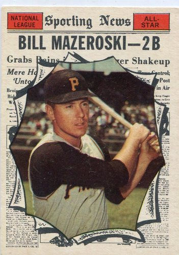 Photo of 1961 Topps #571 Bill Mazeroski All Star