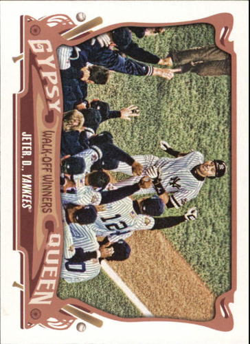 Photo of 2015 Topps Gypsy Queen Walk Off Winners Derek Jeter
